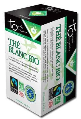Thé blanc Bio Touch Organic