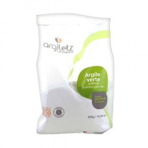 Argile verte surfine 300 gr Argiletz