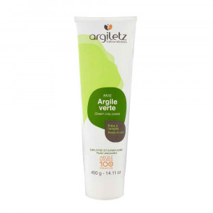 Argile verte tube voyage 400gr Argiletz