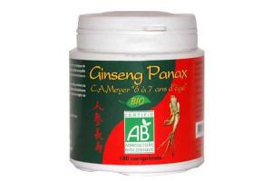 Ginseng panax bio 180 comprimés