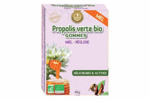 Gommes de Propolis Bio Miel, Réglisse