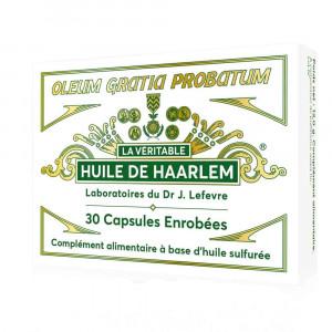 Huile de Haarlem 30 capsules Enrobées Lab. Lefevre
