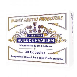 Huile de Haarlem 30 capsules Originales Lab. Lefevre