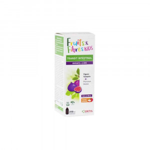 Fruits et Fibres sirop enfants 250 ml Ortis