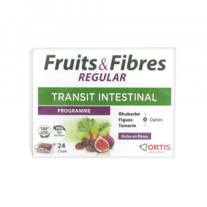 Fruits et Fibres Régular 24 cubes Ortis