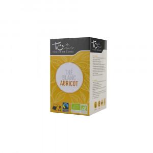 Thé blanc Bio à l'abricot 24 sachets 43gr Touch Organic