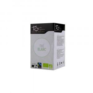 Thé blanc Bio 24 sachets 48gr Touch Organic