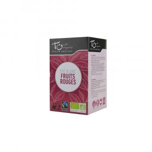 Thé blanc Bio aux fruits rouges 24 sachets 48gr Touch Organic