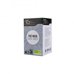 Thé noir earl grey Bio 24 sachets 43 gr Touch Organic