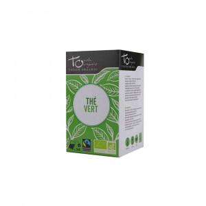 Thé vert Bio 24 sachets 48gr Touch Organic