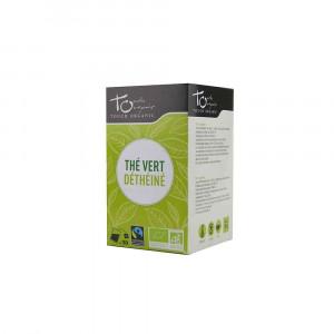 Thé vert Bio déthéiné 20 sachets 30gr Touch Organic