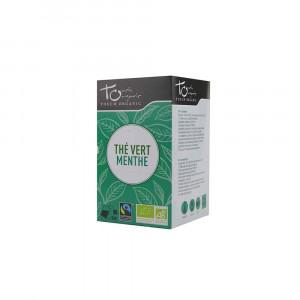 Thé vert Bio à la menthe 24 sachets 43g Touch Organic