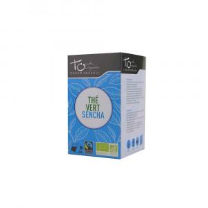 Thé vert Bio sencha 24 sachets 48gr Touch Organic