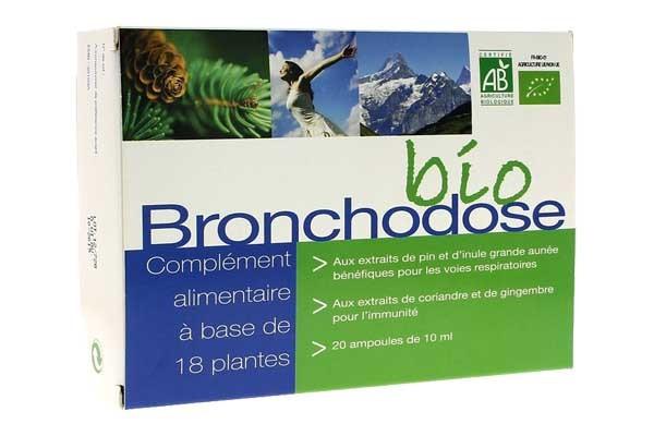 Image produit bronchodose bio ampoules nutrition concept