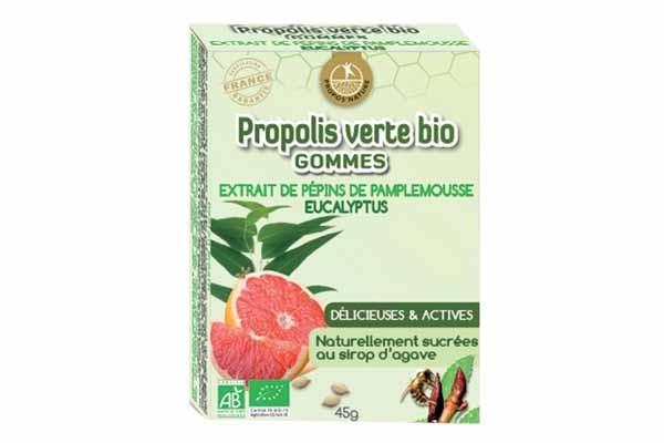 Image gommes Propolis  Eucalyptus BIO