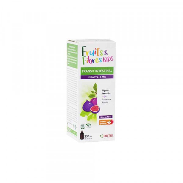 ortis-fruits-fibres-enfants-sirop-250ml